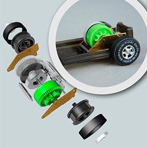 DARDA MOTOR Einzelteile des Motors