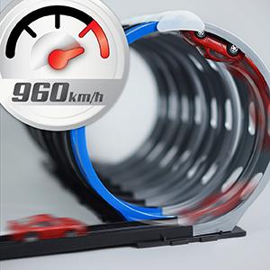DARDA MOTOR Maximum Speed bis 960km/h bezogen auf Maßstab 1:60