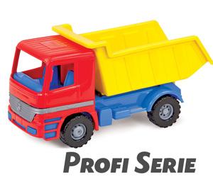 LENA Fahrzeuge Profi Serie Muldenkipper Modell Actros