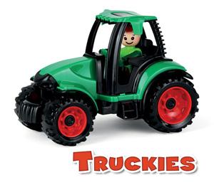 LENA Spielzeug Truckies Traktor mit Spielfigur