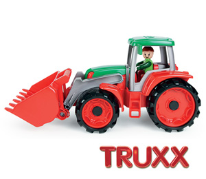 LENA Truxx Traktor mit Spielfigur