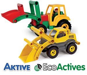 LENA Aktive Traktor und LENA EcoActives Radlader