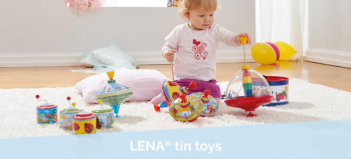 LENA® tin toys