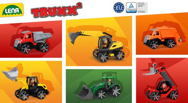 LENA® TRUXX2 Fahrzeuge